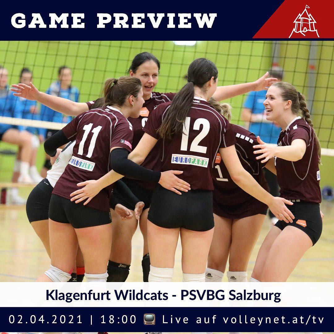 Playoff Preview 1. Bundesliga Damen: Klagenfurt Wildcats - PSV Salzburg
