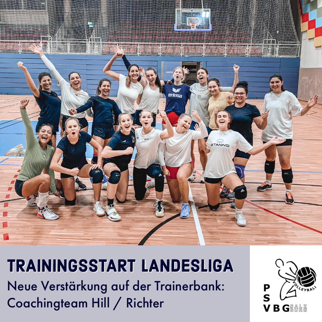 Trainingsstart Landesliga Damen