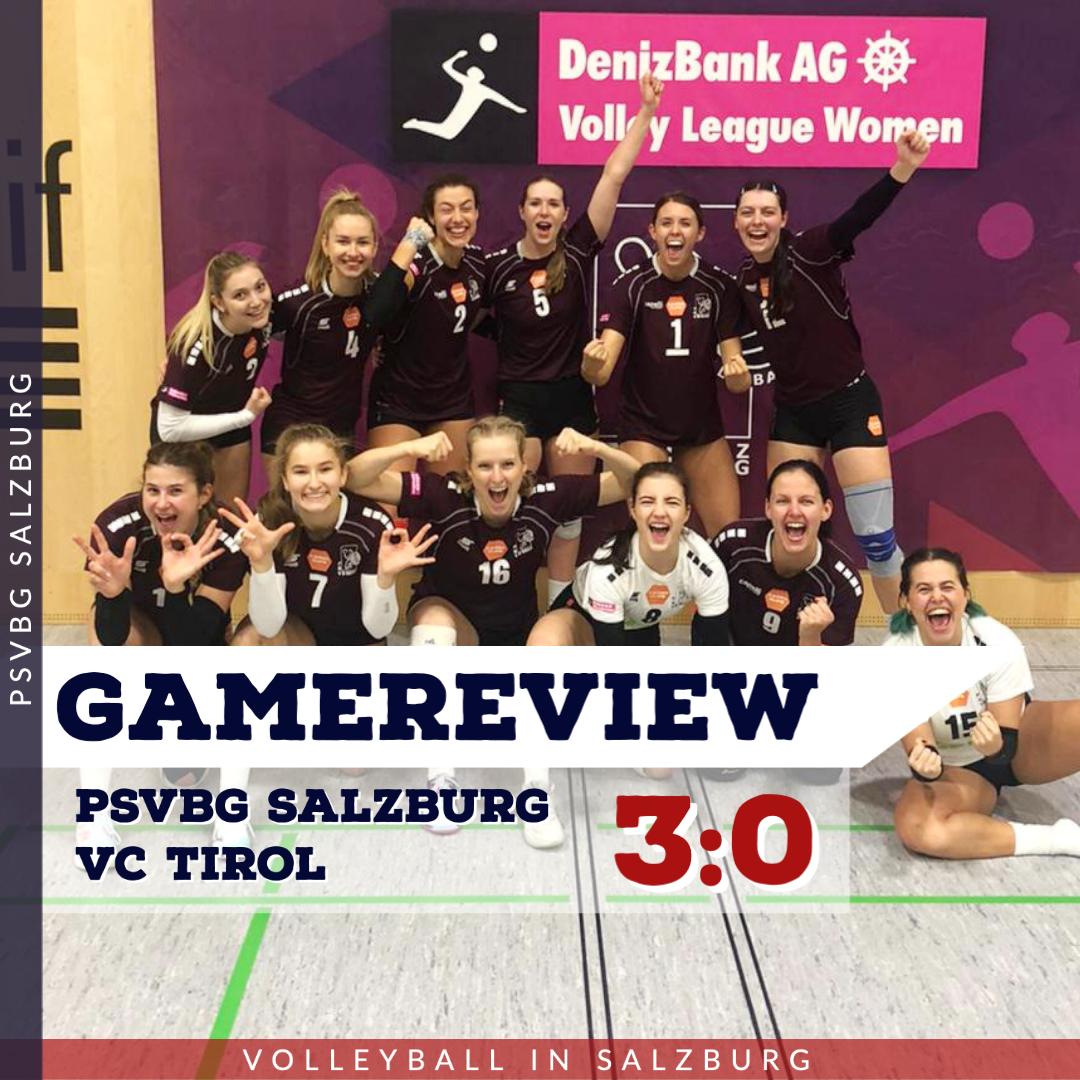 Gamereview 1. Bundesliga Damen: PSVBG Salzburg - VC Tirol