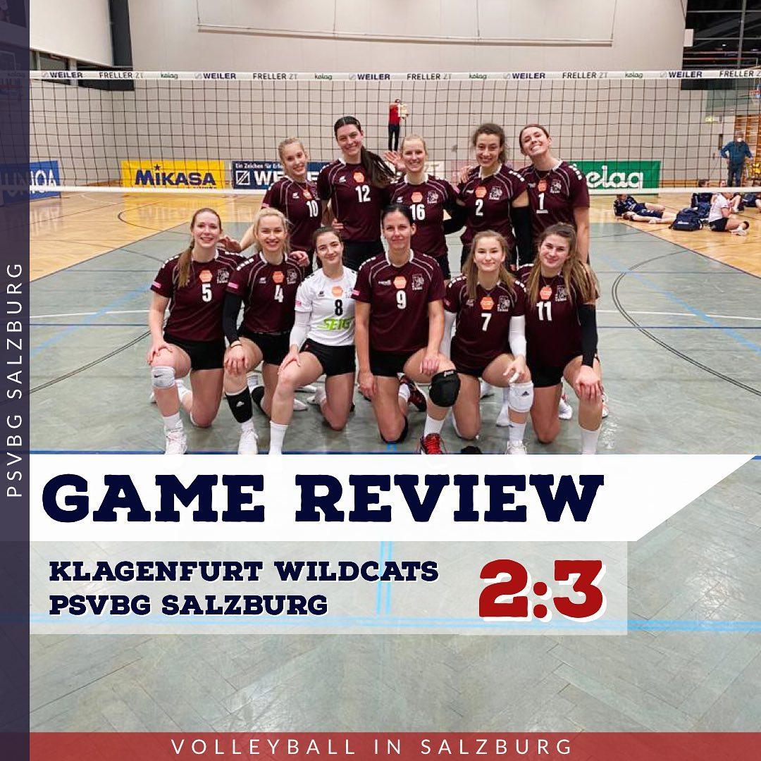Game Review 1. Bundesliga Damen: Wildcats Klagenfurt - PSV Salzburg