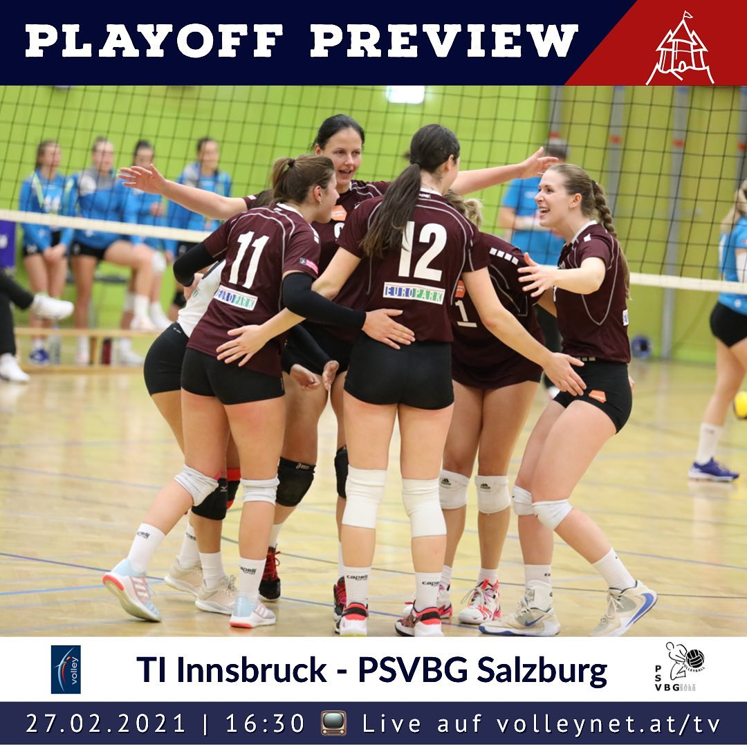 Playoff Preview 1. Bundesliga Damen: TI Innsbruck - PSV Salzburg