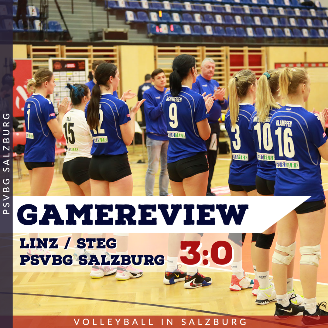 Gamereview 1. Bundesliga Damen: Linz Steg - PSVBG Salzburg