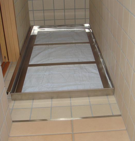 スタンダードプードル2ワンちゃん専用トイレ