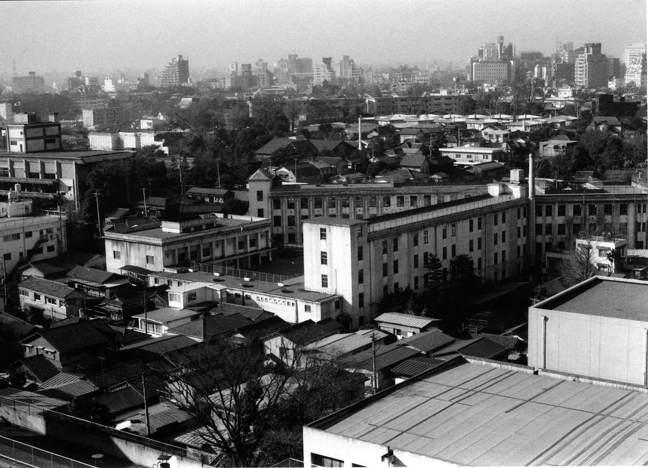 昭和2年~昭和52年まで使われた白金小学校旧校舎