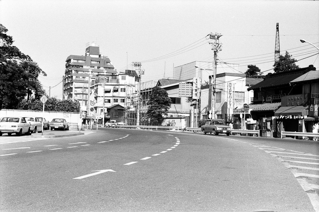 1973年 目黒通り(旧迎賓館前)