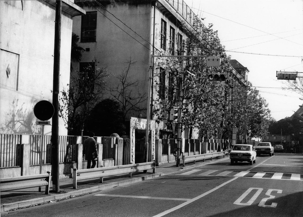 旧校舎 正門