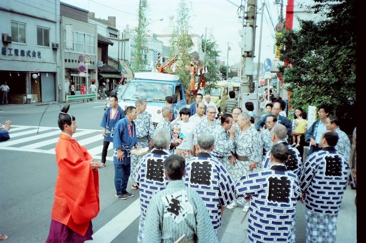 1982年 氷川例大祭