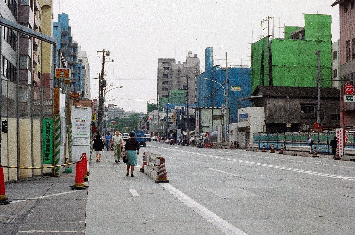 1997年 NTT前