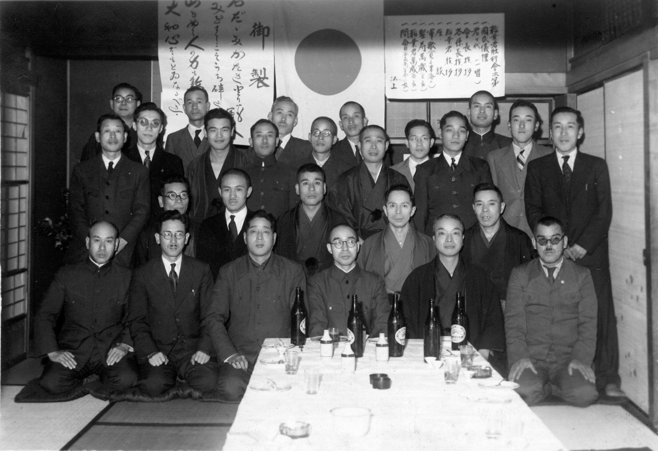 1942年 町会並二商榮會幹部