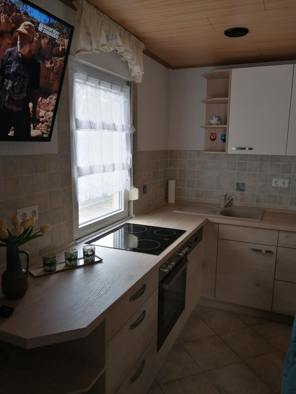 Neue Küche im Wohnraum Haus 61