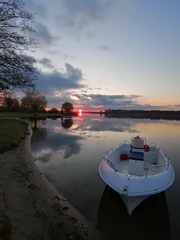 Sonnenuntergang am Neuendorfer See