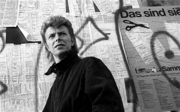 David Bowie en berlin