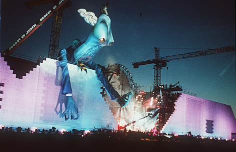 "21 de julio de 1990 –  ""The Wall"" en Berlín"