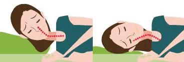 横向き寝の危険性