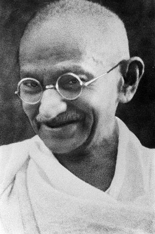 Porträt Gandhi