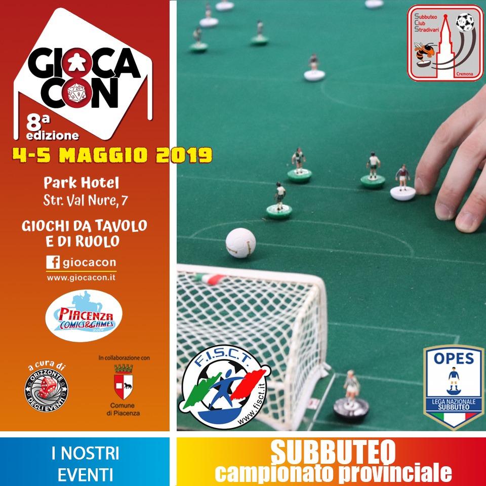 L'evento del weekend 4/5 maggio a Piacenza