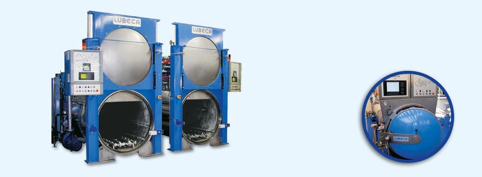 Lubeca Überdruck Berieselungsautoklav für Stand- und Rotationsverfahren LW4013