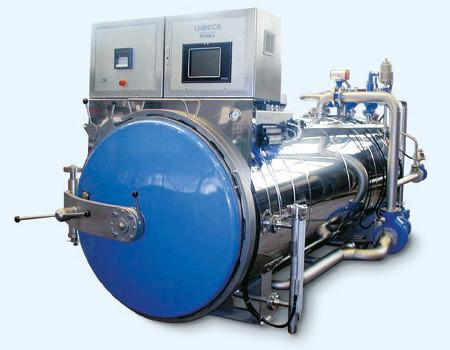 Lubeca Überdruck-Dampfautoklav STERIPOWER für Stand- und Rotationsverfahren