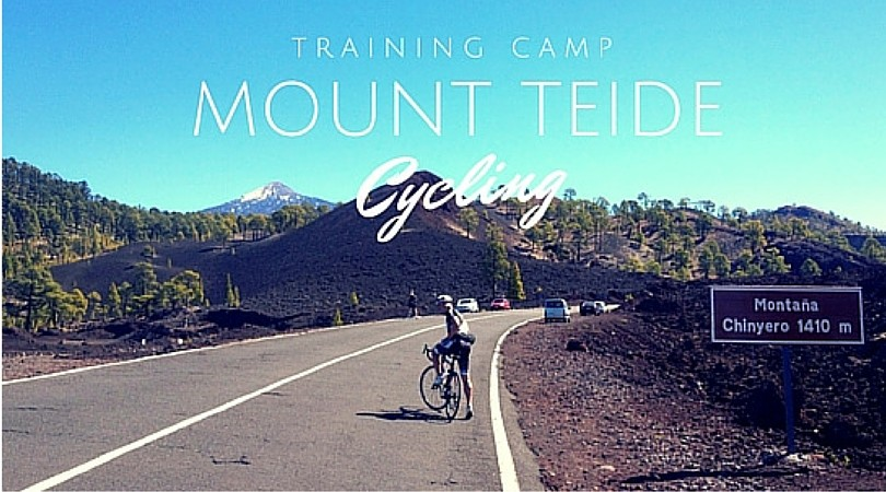 Cycling the Mount Teide in Tenerife, Canary Islands, Spain