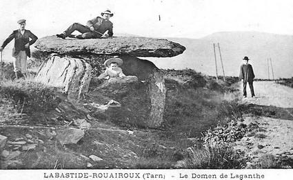 labastide-rouairoux, histoire, tourisme, tarn, haut languedoc, vallée thoré, dolmen, mégalite, préhistoire
