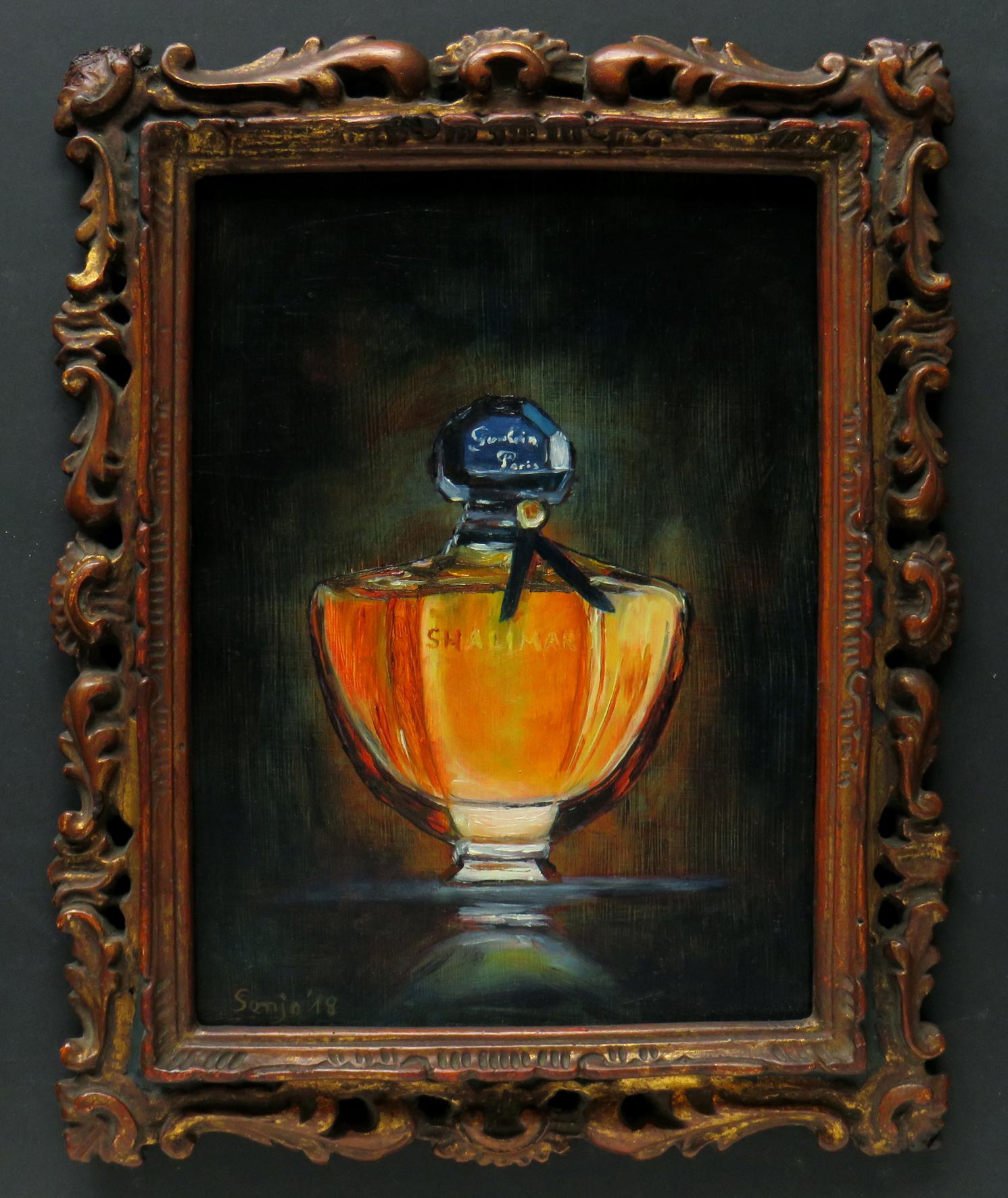 """""""Flacon"""", Öl auf Hartfaser, 18 x 24 cm"""