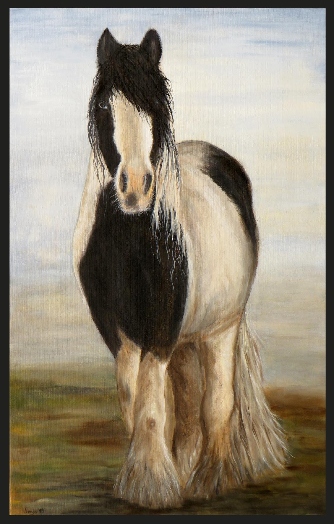 """""""Guinness"""", Öl auf Leinwand, 50 x 80 cm"""