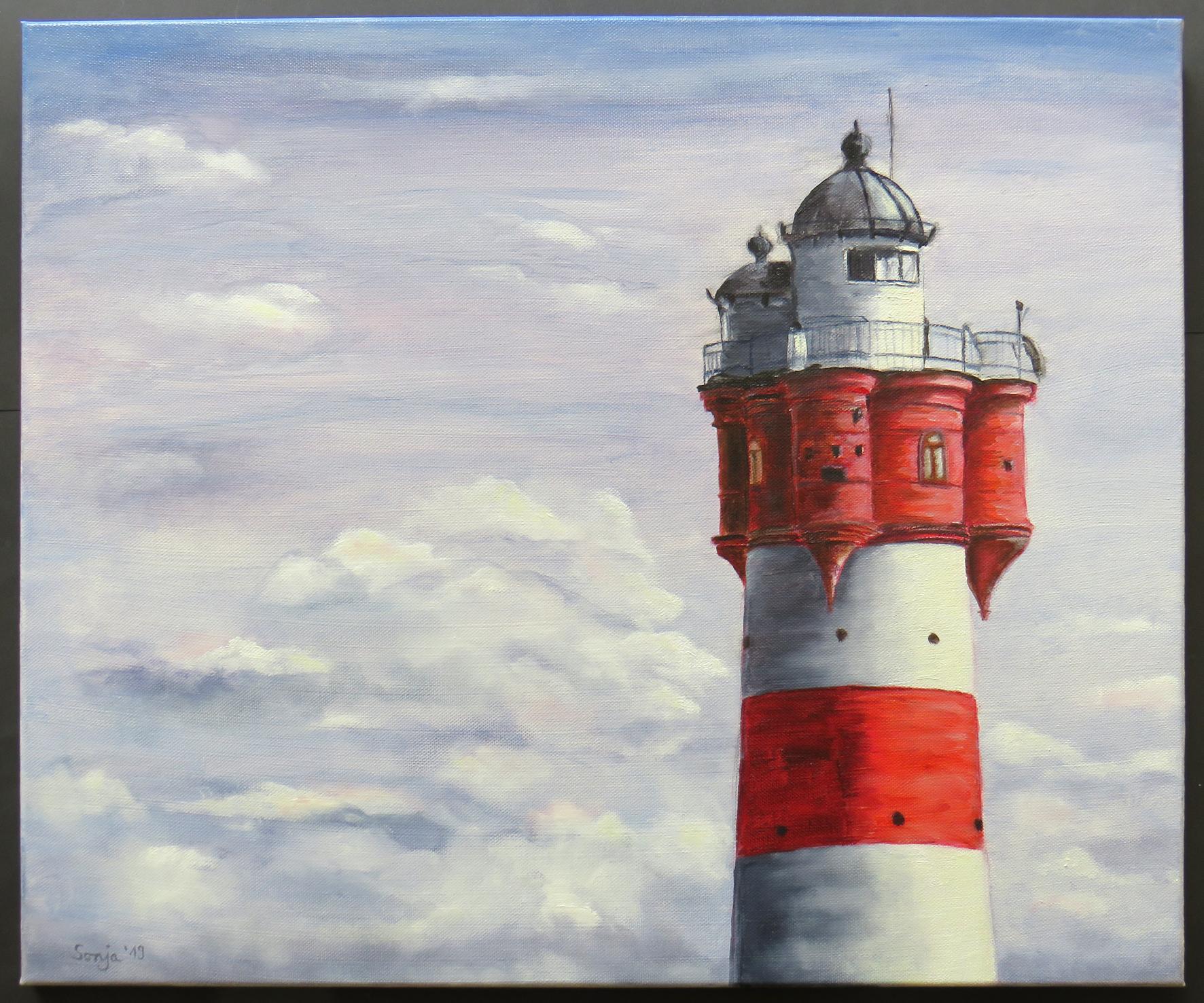 """""""Roter Sand"""", Öl auf Leinwand, 50 x 60 cm"""