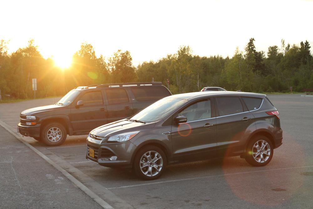 Anchorage - Ford Escape@Potter Marsh - Alaska 2013