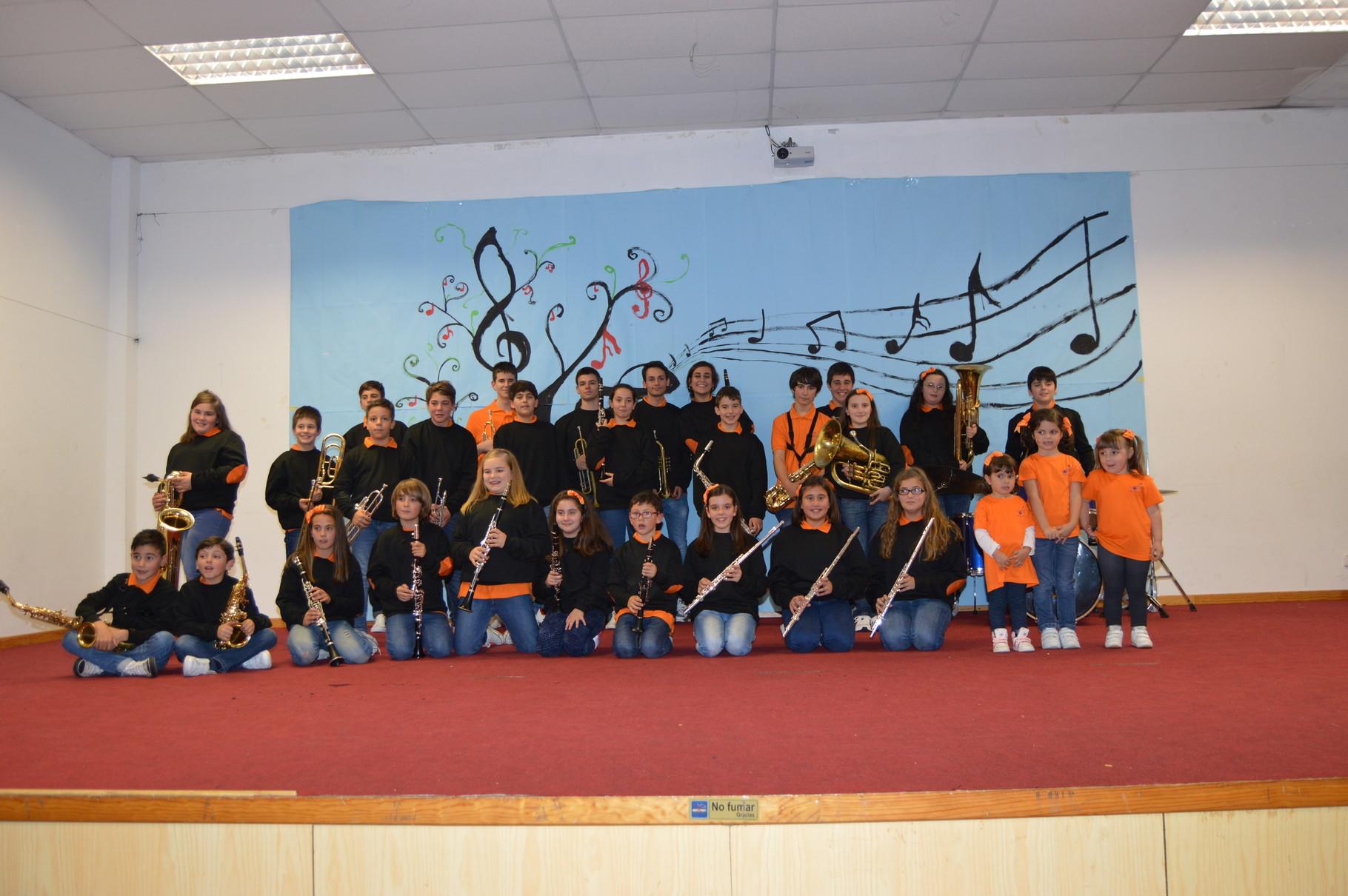 Banda-Escola Curso 2015-2016