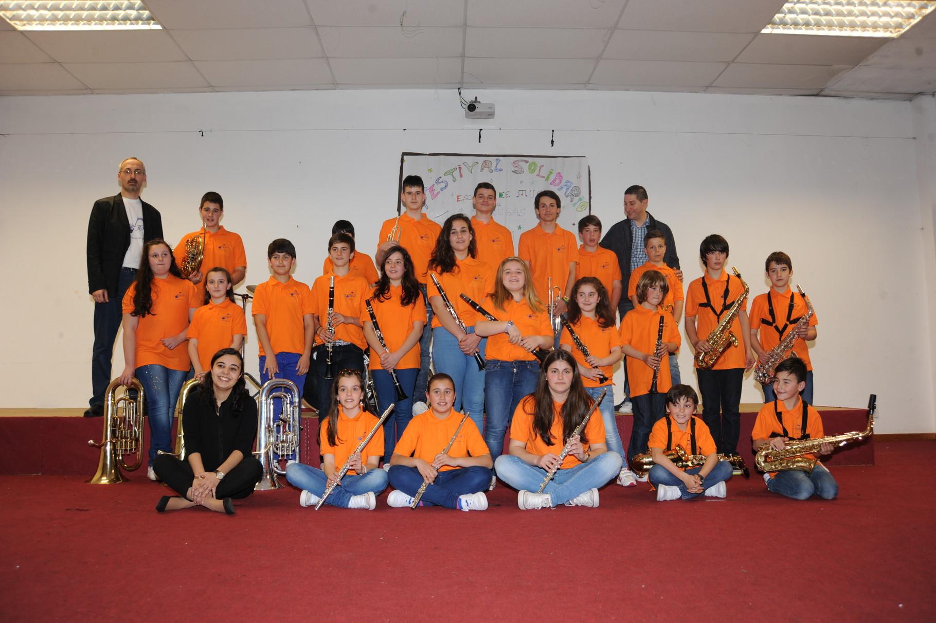 Escola de Música de Mougás Curso 2014-2015