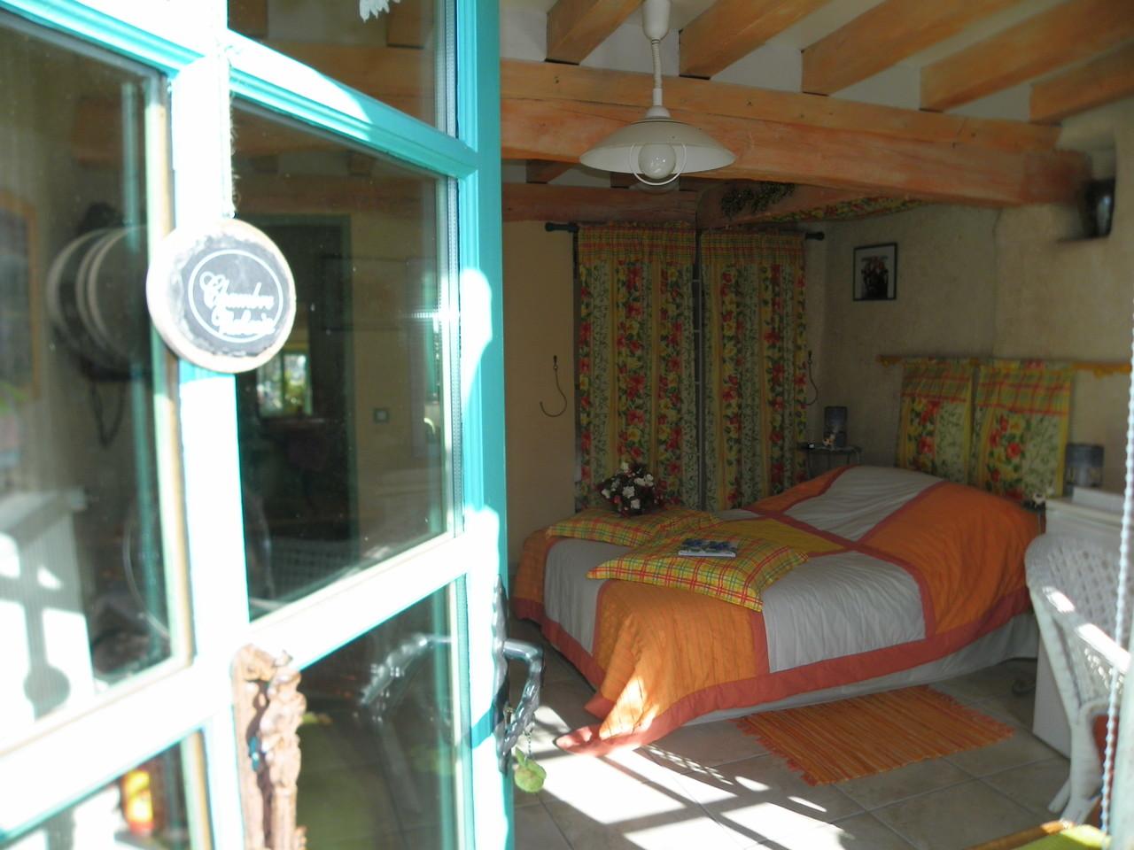 La chambre Mahonia aux couleurs gaies et chatoyantes