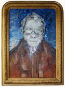 Autoportrait, 2004 (huile sur bois,coll. part. GR)