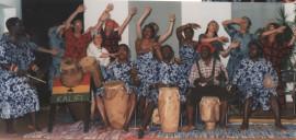 Tanz- und Trommelband KALIFI aus Ghana