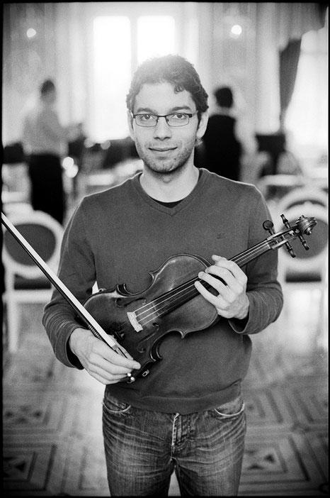 Geigenunterricht bei Stefano Menna über Skype, Zoom