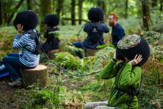 Virtual Reality im Wald: In the Eyes of the Animal von Marshmallow Laser Feast (http://intheeyesoftheanimal.com)