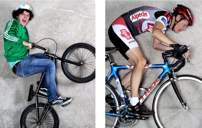 Fahrradportraits Foto von Fotografin Antje Dopheide