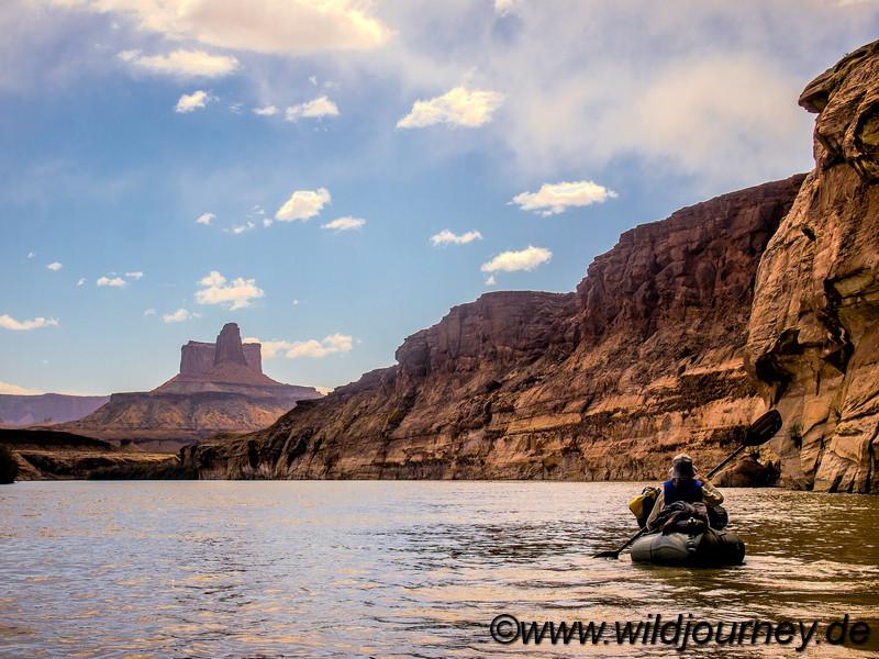 Green River Packrafting Trip, Utah