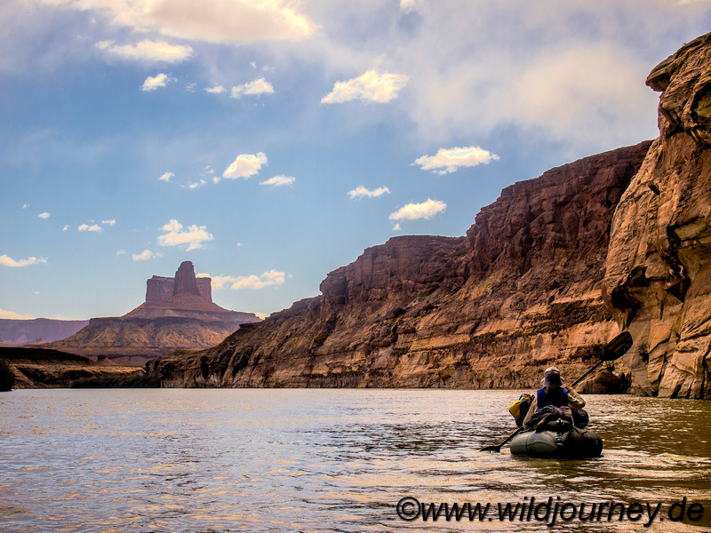 Green River Packrafting Trip, Utah