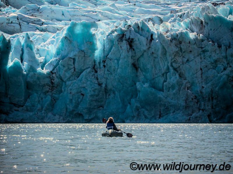 Portage Glacier, Alaska
