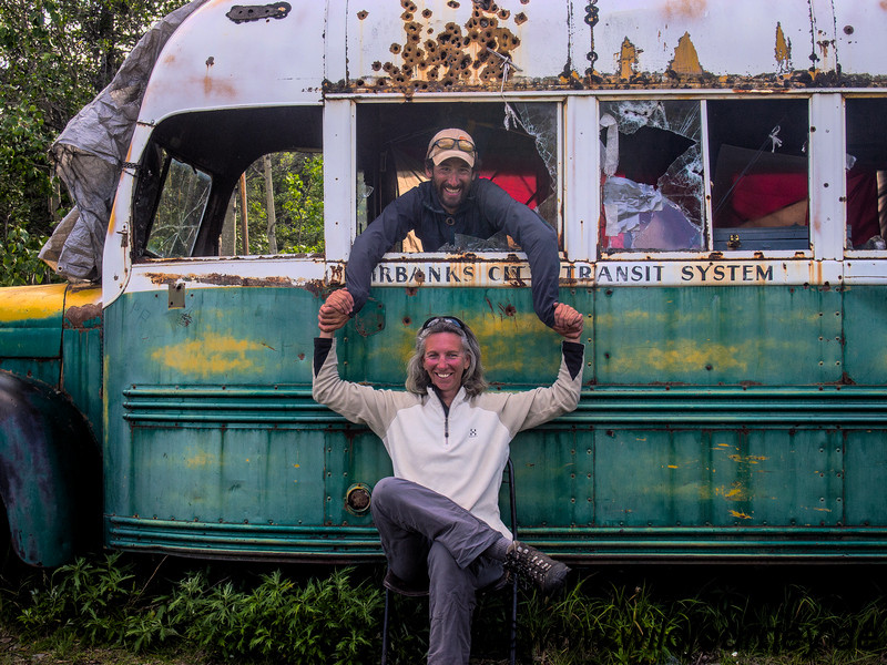 The original Mc Cantless Bus, Alaska
