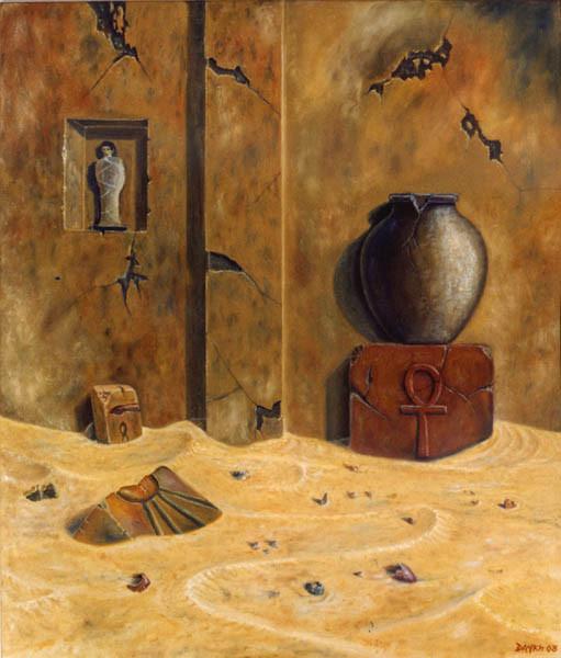 Presencias Espirituales - Oleo 70x60 (2003) - Daniel Dankh