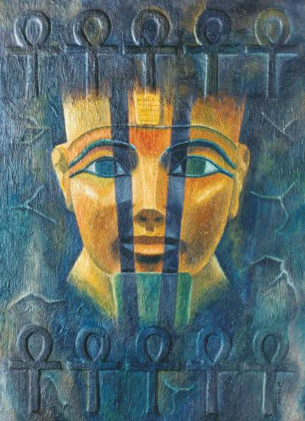 El misterio de Hatshepsut - Oleo 70x50 (2004) - Daniel Dankh
