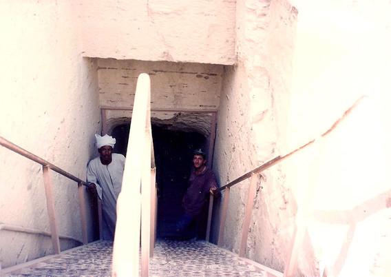 Entrada a la tumba de Tutankhamon - Valle de los reyes - Dankh