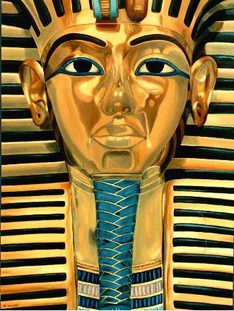 Tutankhamen - Oleo 111x83 (1992) - Daniel Dankh
