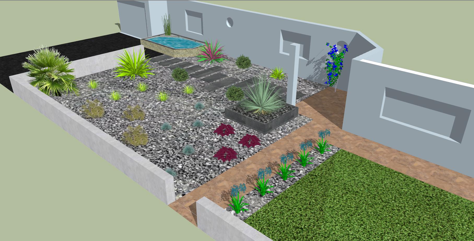 Plans de jardin - Paysagiste Rennes Création de jardin