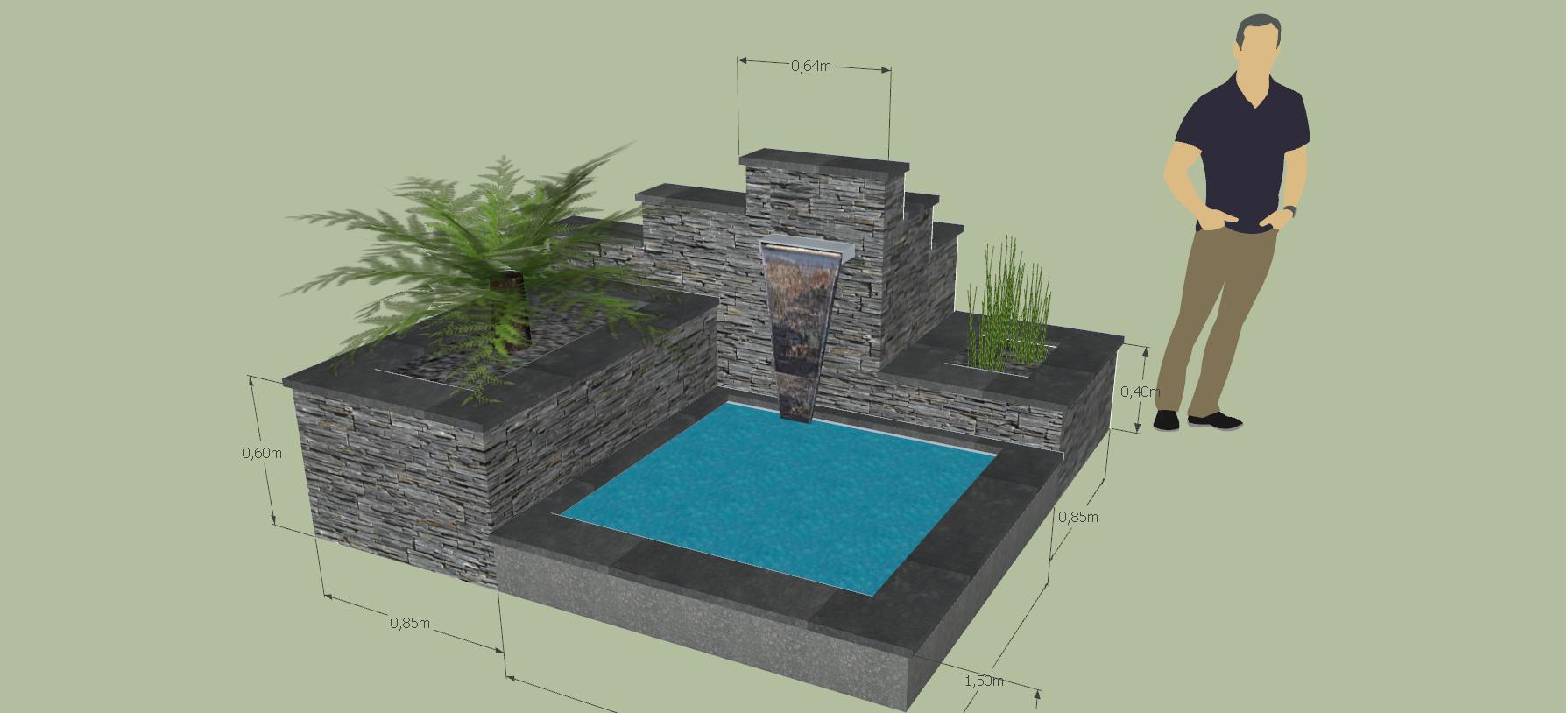 bassin de jardin rennes