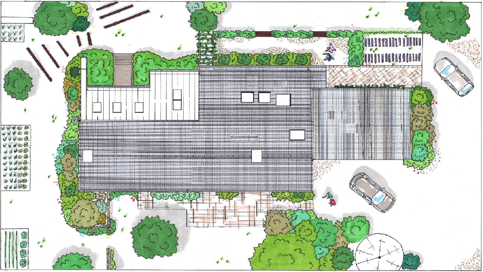 plan jardin paysagiste rennes