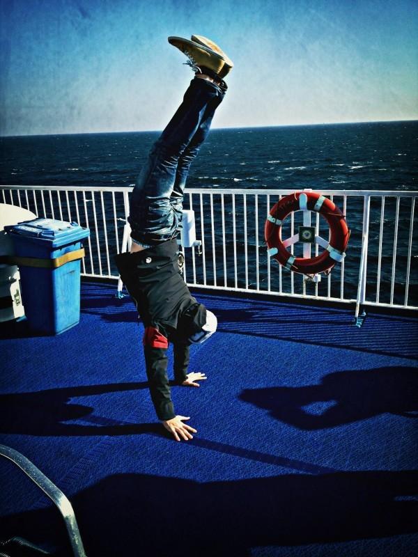 Ferry to Denmark