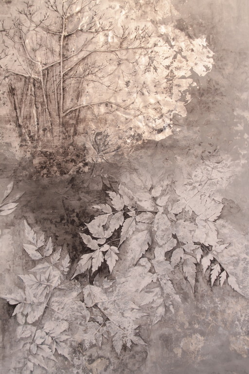 YU, 2010  90×65×2cm  Kiln cast, Painted,