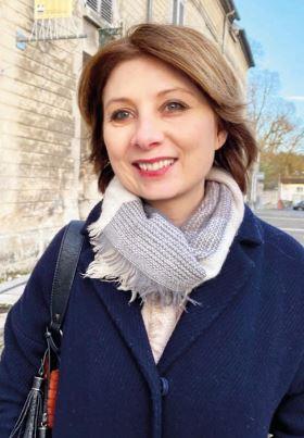 Jeanne Roussel mène la liste des Citoyen(ne)s Cotterézien(ne)s à l'élection municipale de mars prochain.